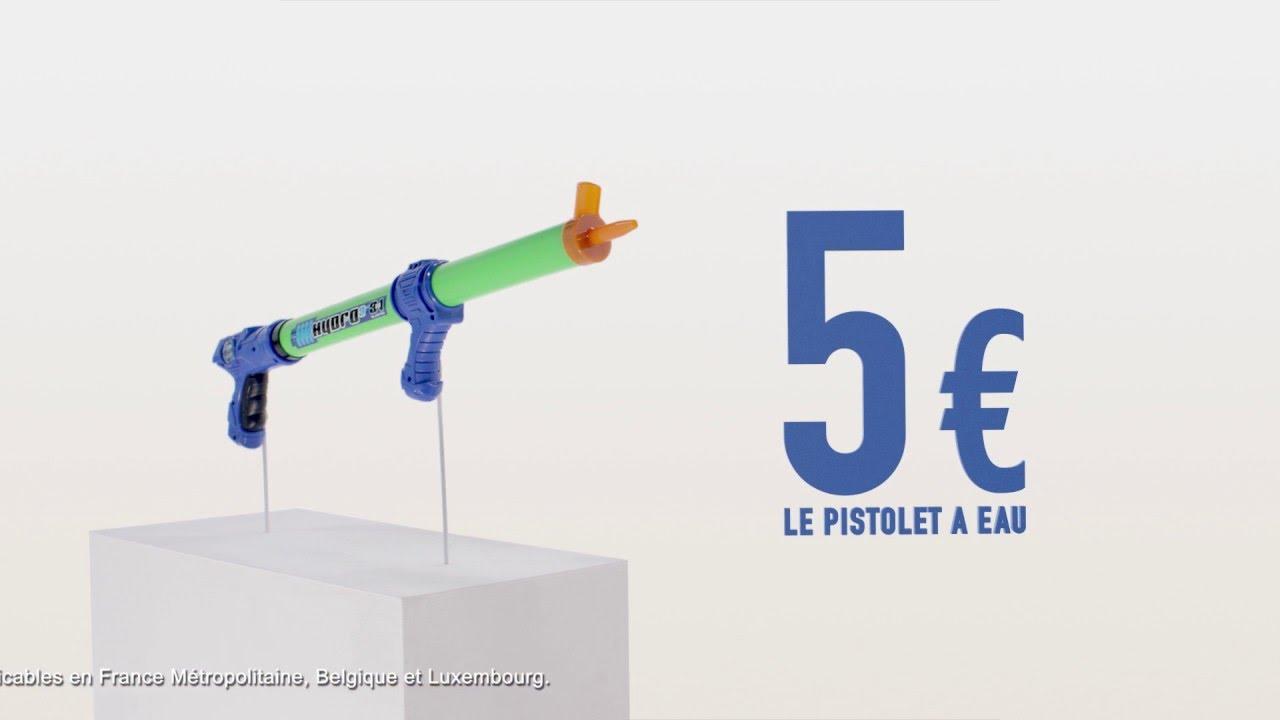 la foir 39 fouille le pistolet eau 5 publicit tv 1