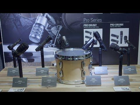Audio Technica Drum Packs - AES 2018