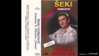 Seki Turkovic - Zivim kako hocu - (Audio 1992)