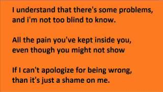 Akon - Sorry blame it on me with lyrics