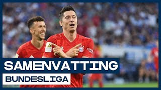 HIGHLIGHTS | Hattrickheld Lewandowski sloopt Schalke