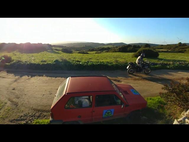 Raid degli Oliveti 2018 - Passaggio sul Grighine