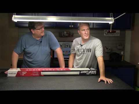 LED Shop Lights To Replace Fluorescent? - YouTube