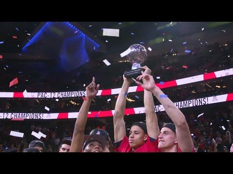 Pac-12 Tournament Championship Celebration