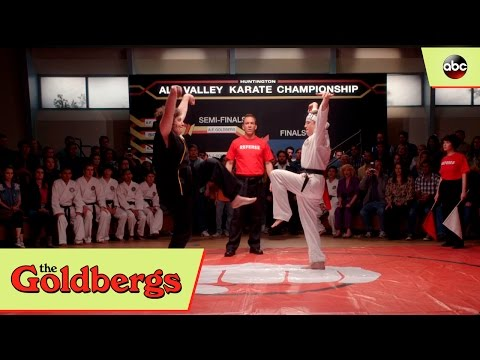 Adam Goldberg vs. Adam Goldberg Karate Kid Tribute  The Goldbergs 4x16