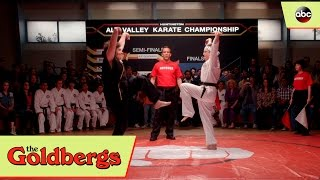 Adam Goldberg vs. Adam Goldberg Karate Kid Tribute - The Goldbergs 4x16