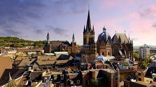 Deutschland Aachen Ахен город в Германии