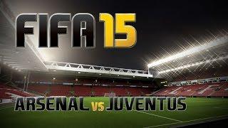 FIFA 15 - Arsenal / Juventus - HiLe It's in the Game - PS4 Gameplay ITA