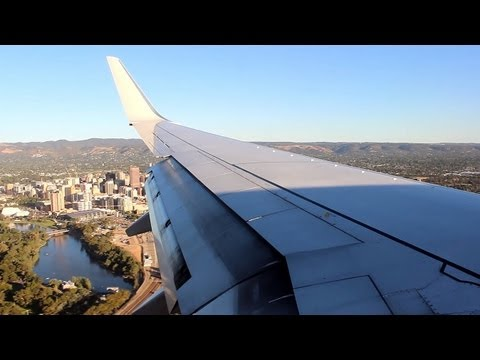 Qantas 737-800 QF697 Melbourne to Adelaide - VH-VZE