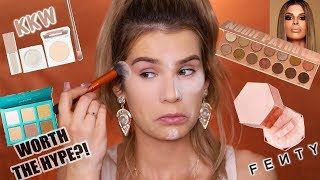 TESTING FULL FACE of (NEW!) VIRAL MAKEUP! Worth the Hype?!