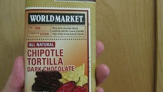 World Market Chipotle Tortilla Dark Chocolate Bar | Spicochist Reviews