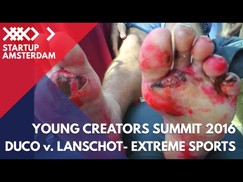 5 Lessons for Startups from Extreme Sports - Duco van Lanschot - Young Creators Summit 2016