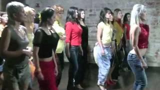 Sara Lopez   мастер класс по женскому стилю в кизомбе