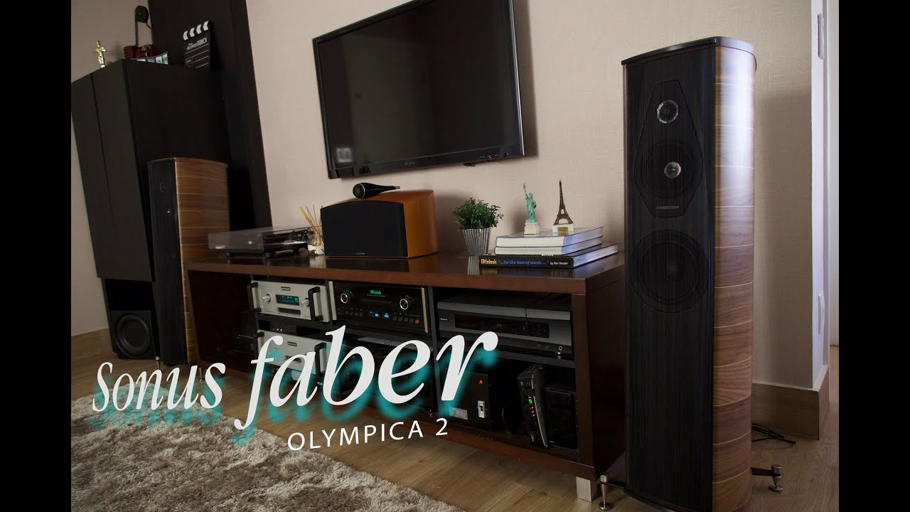 My Sonus Faber Olympica ii - YouTube