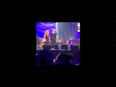 Celine Dion and Andrea Bocelli - The Prayer Live 2015 HD