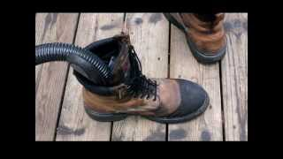 How To Dry Wet Boots Fast Tutorial