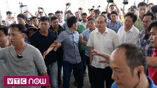 Bí thư Nguyễn Thiện Nhân thăm bà con Thủ Thiêm | VTC1