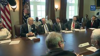 President Trump Leads Healthcare Listening Session with Truckers & CEOs