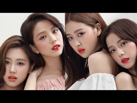 Chaesoo For Ceci Magazine Rose And Jisoo For Ceci Youtube