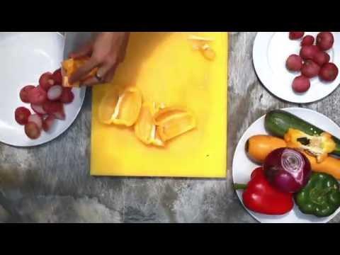 Zone8.vn - chỉ cần 5 phút làm ngay xiên rau củ nướng đổi vị