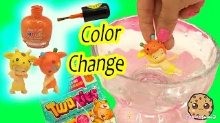 Color Changing Twozies Baby - DIY Nail Polish Craft Custom - Cookieswirlc