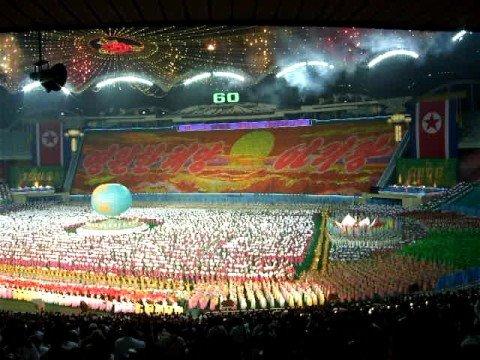 Arirang performance in Pyongyang