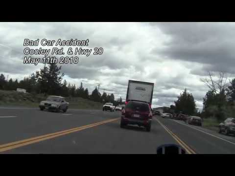 Bad Car Accident Cooley Rd & Hwy 20 May 11th 2018 Bend, Oregon