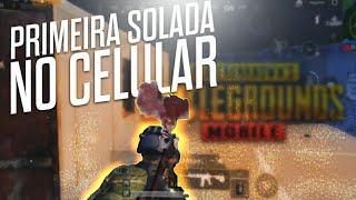 PRIMEIRO SOLO VS SQUAD NO CELULAR ( ROG PHONE 2 ) PUBG MOBILE