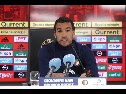 Persconferentie Giovanni van Bronckhorst   Feyenoord - FC Utrecht