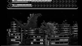 Godzilla 1954 Vs. Anguirus 1968 - Godzilla Daikaiju Battle Royale