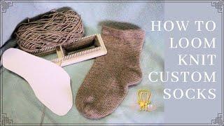 How to Loom a Custom Sock