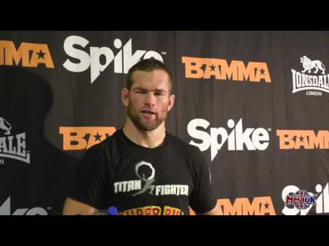 BAMMA 23 Post Fight Interview with Bill Beaumont