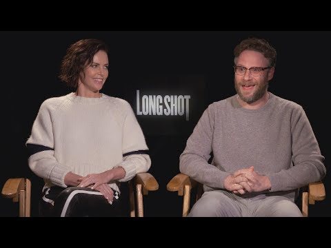 Long Shot: Seth Rogen and Charlize Theron Talk Filming Sexy Scene (Exclusive)