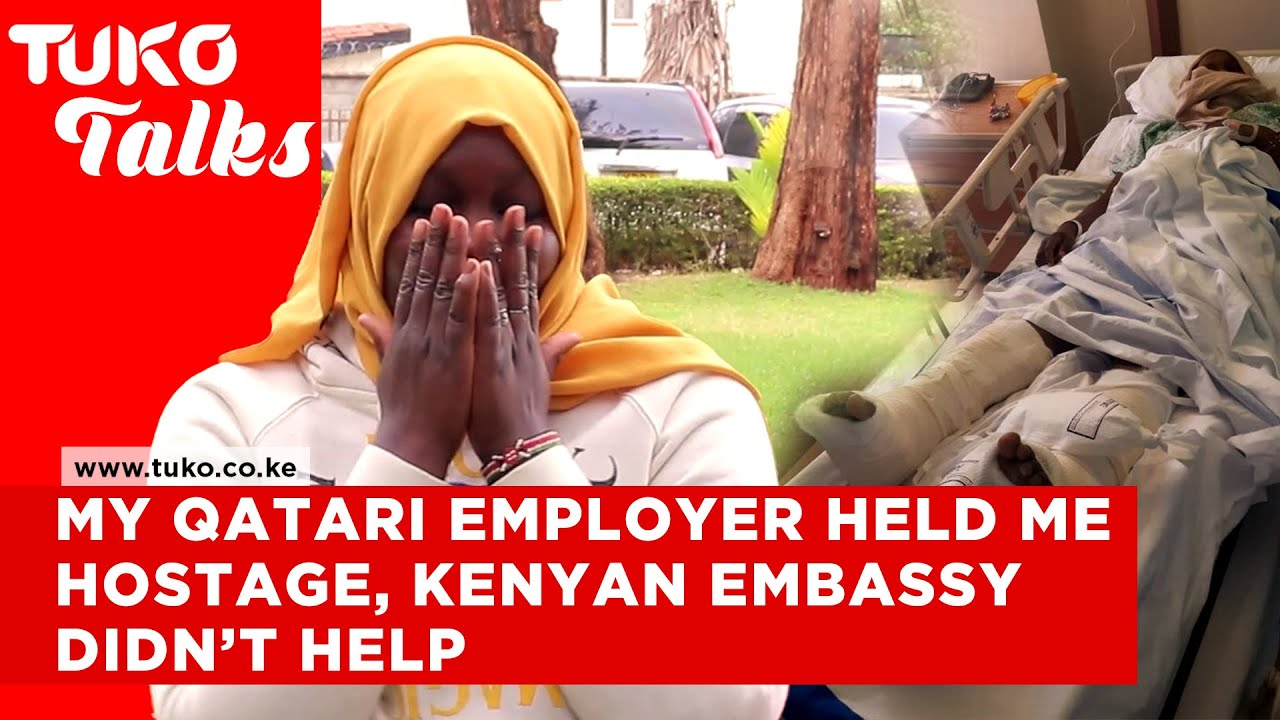Download I jumped from a building and broke my legs while escaping my Qatari employer | Tuko TV