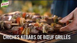 Chiches kébabs de bœuf balsamique | Chaque repas compte avec Knorr®