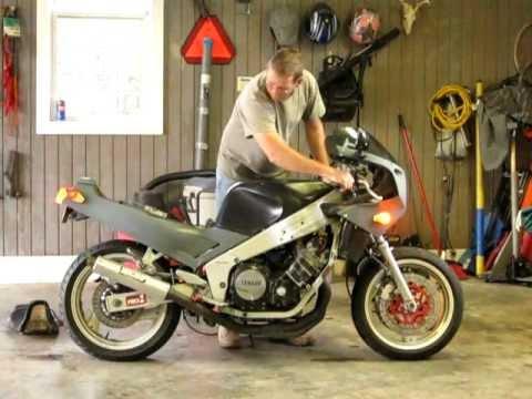 creal 39 s bike for sale 87 yamaha fzr 1000 youtube. Black Bedroom Furniture Sets. Home Design Ideas