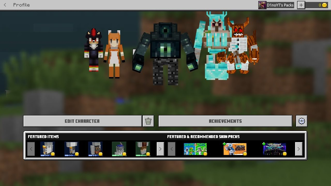 How to get 8D SKINS on Minecraft Windows 8 (MCBE/MCPE/PC) Working