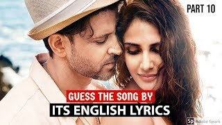 *IMPOSSIBLE* GUESS THE SONGS BY ITS ENGLISH LYRICS #10 | HINDI/BOLLYWOOD SONGS CHALLENGE VIDEO 2019