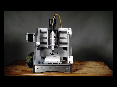 The Micromill A Desktop Cnc Milling Machine Youtube