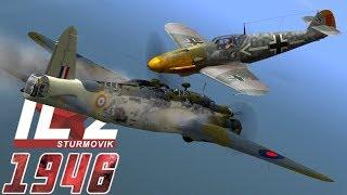 Full IL-2 1946 mission: JG 26 Channel Action