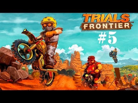 Trials Frontier Android HD GamePlay Part 5 Walkthrough [Game For Kids]