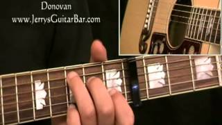 How To Play Donovan Universal Soldier (full lesson)