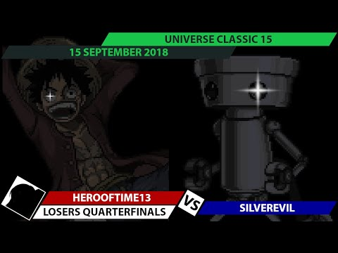 UC15 - HEROofTIME13 (Luffy) vs SilverEvil (Chibi-Robo, Ness) - SSF2 Beta Losers Quarterfinals