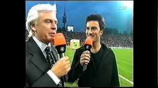 TARKAN: Bu Gece @ Football match Germany-Turkey, for German TV Channel ZDF, 1999