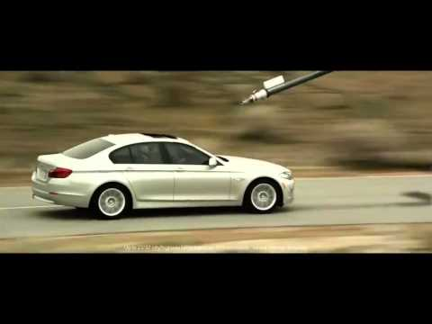 BMW 5 Series Refuel TV Commercial Ad Refueling Tanker Jet Aircraft