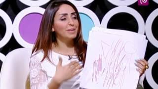 روان أبو عزام - تحليل رسومات الأطفال