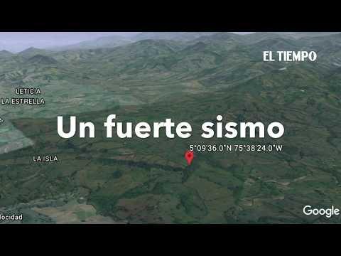 Sismo de magnitud 5,4 se sintió en Manizales | EL TIEMPO