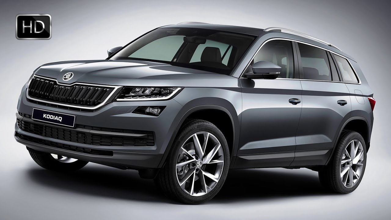 2017 skoda kodiaq 4x4 suv detailed exterior design overview hd video youtube. Black Bedroom Furniture Sets. Home Design Ideas