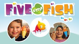 Five Little Fish Preschool Board Game by Ravensburger