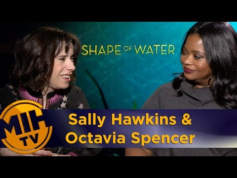 Sally Hawkins And Octavia Spencer: The Shape Of Water